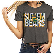 Gameday Couture Women's Baylor Bears Grey Home Team Advantage Vintage Vibe Crop Top