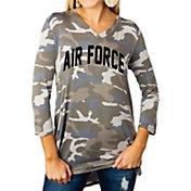 Gameday Couture Women's Air Force Falcons Camo Hidden Treasures ¾ Sleeve Tunic Shirt