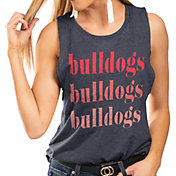 Gameday Couture Women's Fresno State Bulldogs Blue Festival Tank Top