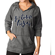 Gameday Couture Women's Georgetown Hoyas Grey Keeping Cozy French Terry Pullover Hoodie