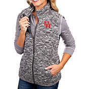 Gameday Couture Women's Houston Cougars Grey City Chic Quilted Vest