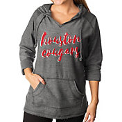 Gameday Couture Women's Houston Cougars Grey Keeping Cozy French Terry Pullover Hoodie