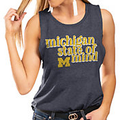 Gameday Couture Women's Michigan Wolverines Blue Festival Tank Top