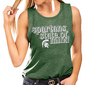 Gameday Couture Women's Michigan State Spartans Green Festival Tank Top
