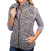 Gameday Couture Women's Marquette Golden Eagles Grey City Chic Quilted Vest