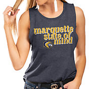 Gameday Couture Women's Marquette Golden Eagles Blue Festival Tank Top