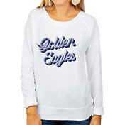 Gameday Couture Women's Marquette Golden Eagles Casually Cute French Terry Pullover White Sweatshirt