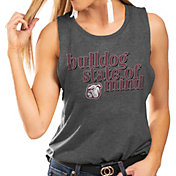 Gameday Couture Women's Mississippi State Bulldogs Grey Festival Tank Top