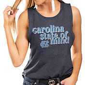 Gameday Couture Women's North Carolina Tar Heels Navy Festival Tank Top