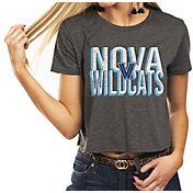 Gameday Couture Women's Villanova Wildcats Grey Home Team Advantage Vintage Vibe Crop Top
