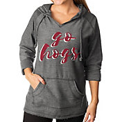 Gameday Couture Women's Arkansas Razorbacks Grey Keeping Cozy French Terry Pullover Hoodie