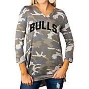 Gameday Couture Women's South Florida Bulls Camo Hidden Treasures ¾ Sleeve Tunic Shirt
