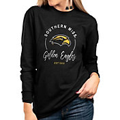 Gameday Couture Women's Southern Miss Golden Eagles Varsity Long Sleeve Black T-Shirt
