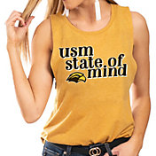 Gameday Couture Women's Southern Miss Golden Eagles Gold Festival Tank Top