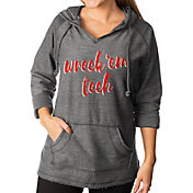Gameday Couture Women's Texas Tech Red Raiders Grey Keeping Cozy French Terry Pullover Hoodie
