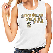 Gameday Couture Women's Wake Forest Demon Deacons White Festival Tank Top