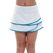 Lucky In Love Girls' Scallop Tennis Skirt