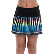 Lucky In Love Girls' Squared Up Pleated Tennis Skirt