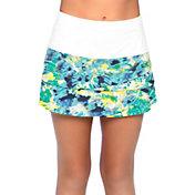 Lucky In Love Girls' Tie Dye Scallop Tennis Skort
