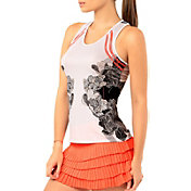 Lucky In Love Women's Bonjour Tennis Tank Top
