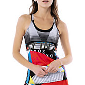 Lucky In Love Women's Future Retro Tennis Cami Tank Top