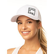 Lucky In Love Women's LIL Embroidered Laser Tennis Hat