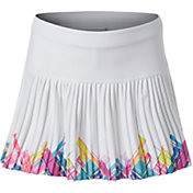 Lucky in Love Girls' Spring Mini Plaid Pleated Tennis Skirt