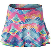 Lucky in Love Girls' Spring Plaid About You Tennis Skirt