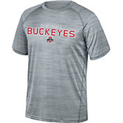 Scarlet & Gray Men's Ohio State Buckeyes Gray Breakout T-Shirt