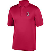 Scarlet & Gray Men's Ohio State Buckeyes Scarlet Polo