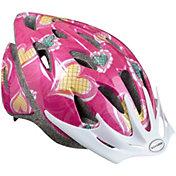Schwinn Girl's Thrasher Hearts Bike Helmet