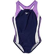 Speedo Girl's Infinity Splice Swimsuit