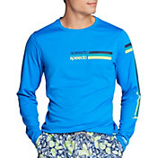 Speedo Men's Graphic Long Sleeve Swim Shirt
