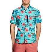Speedo Men's Seaside Floral Paddle Shirt