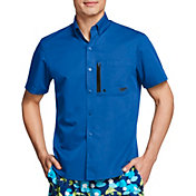 Speedo Men's Solid Paddle Shirt