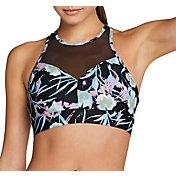 Speedo Women's Mesh Panel Bikini Top