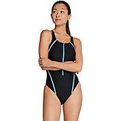 Speedo Women's Zip Quantum Splice One Piece Swimsuit