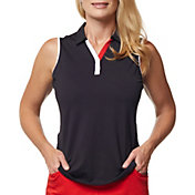 Sport Haley Women's Harmony Sleeveless Golf Polo