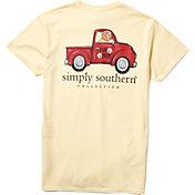 Simply Southern Women's Fur Short Sleeve T-Shirt