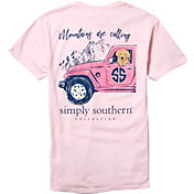 Simply Southern Women's Mountains Short Sleeve T-Shirt