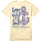 Simply Southern Women's Anchor Short Sleeve T-Shirt