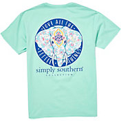Simply Southern Women's Ele Pocket Short Sleeve T-Shirt