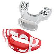 Shock Doctor Interchange Lip Guard with Shield