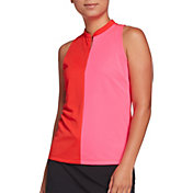 Slazenger Women's Bold Sleeveless Color Block Golf Polo