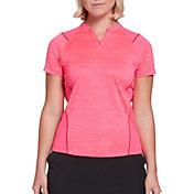 Slazenger Women's Bold Texture Golf Polo