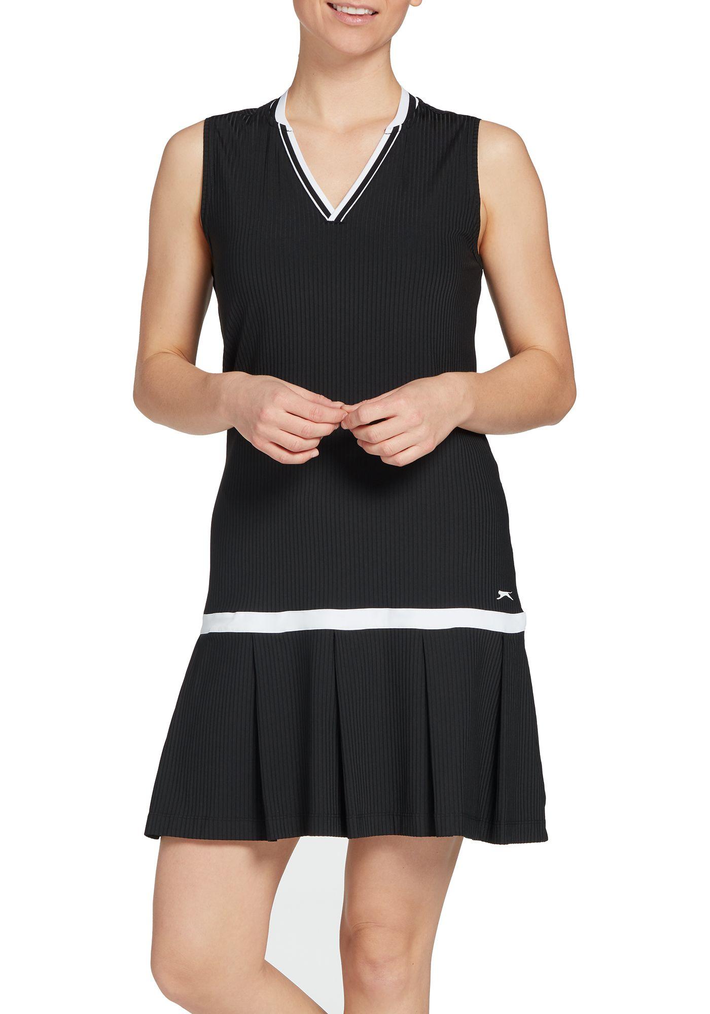 Slazenger Women's Pleated Sleeveless Golf Dress