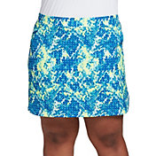 Slazenger Women's Plus Size Refresh Print 19'' Golf Skort