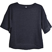 Soffe Women's Plus Size Vintage Crop T-Shirt