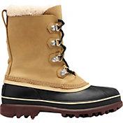SOREL Men's Caribou Stack Waterproof Winter Boots
