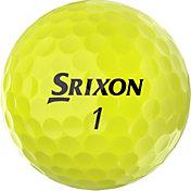 Srixon 2020 Q-STAR TOUR 3 Yellow Personalized Golf Balls